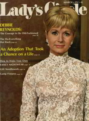 Debbie Reynolds, Lady's Circle, Mar 1971