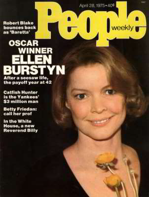 Ellen Burstyn, People Magazine, Apr 1975