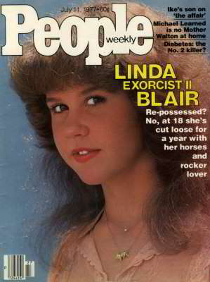 Linda Blair, People Magazine, Jul 1977
