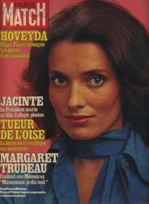 Margaret Trudeau, Paris Match, Apr 1979