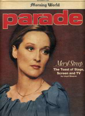 Meryl Streep, Parade, Sep 1979