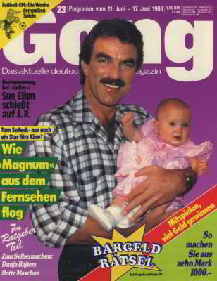 Tom Selleck, Gang, Jun 1988