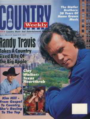 Randy Travis, Country Weekly, May 1994