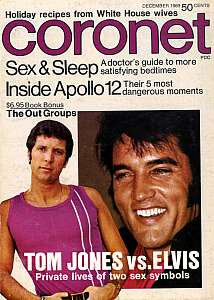 Coronet, December 1969, Tom Jones and Elvis Presley
