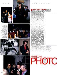 American Photo, September 2000, Elvis Presley
