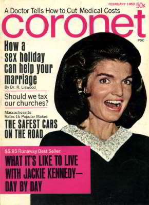 Jackie Kennedy, Coronet Magazine, Feb 1969
