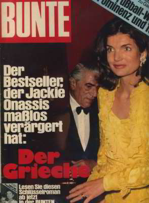 Jackie and Aristotle Onassis, Bunte, Jun 1974