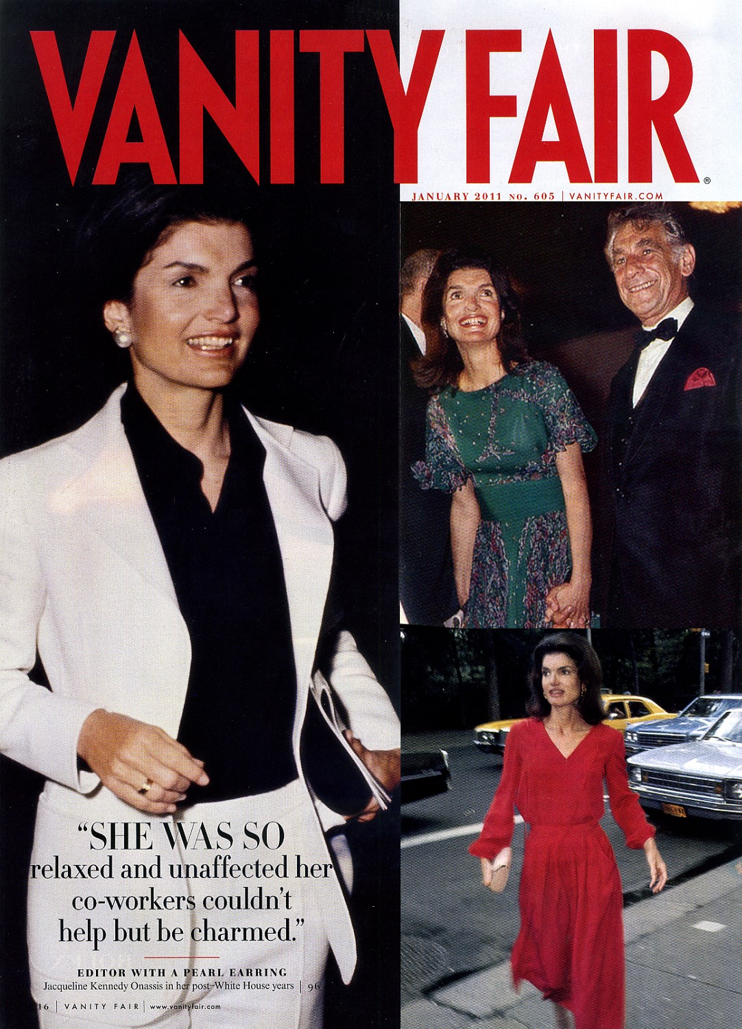 Jackie Kennedy, Vanity Fair, Jan 2011